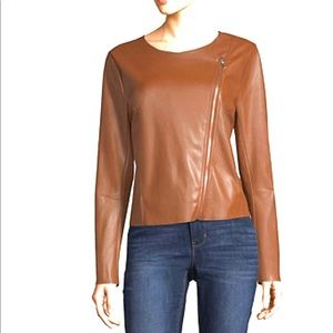 Worthington faux leather jacket